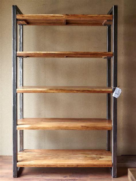 libreria offerta libreria legno ferro stile industriale offerta on line