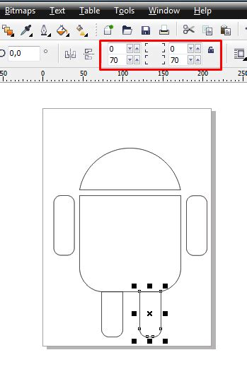 tutorial corel draw x4 desain grafis membuat logo android di coreldraw x4 tutorial desain grafis