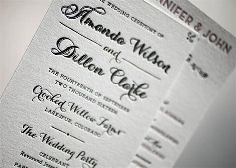 wedding program inclusions figura wedding invitations menshealtharts