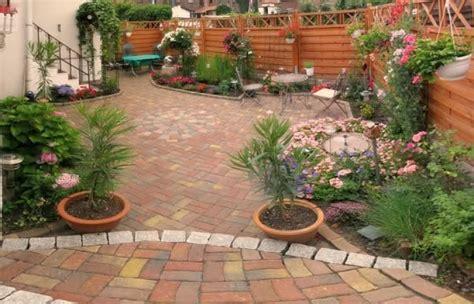 gartengestaltung kleine gärten garten ohne rasen nowaday garden