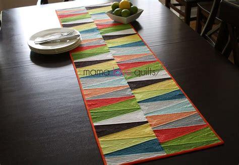 Modern Dresden Quilt Table Runner   FaveQuilts.com
