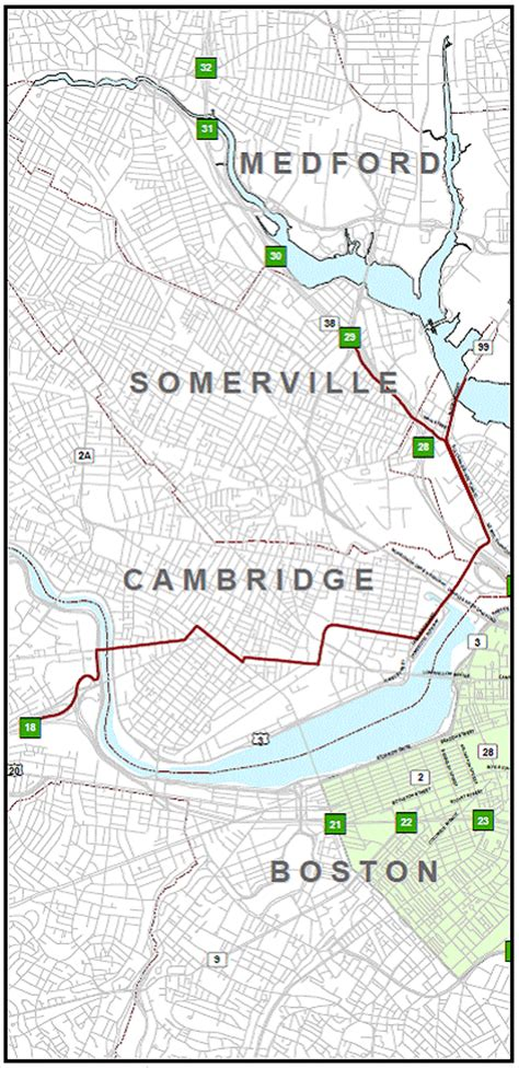 map of hazardous waste tim s community route changes may bring more hazardous materials through cambridge and