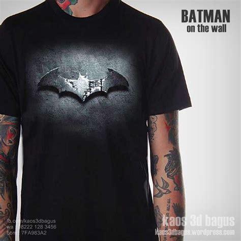 Kaos Logo Batman Murah kaos 3d kaos 3d bagus