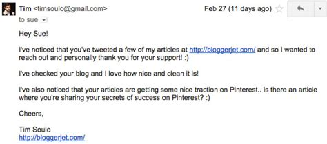 blogger outreach email blogger outreach exles to get attention of influencers