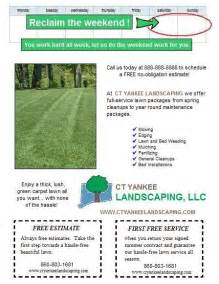 spring lawn care postcard and flyer design ideas lawn care business marketing tips