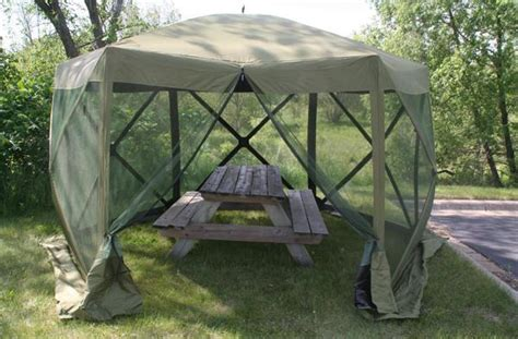 ez up screen room clam s new six pack screen tent scores big on set up and quality outdoorhub
