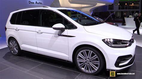 volkswagen minivan 2016 interior 2016 volkswagen touran r line 2 0 tdi exterior and