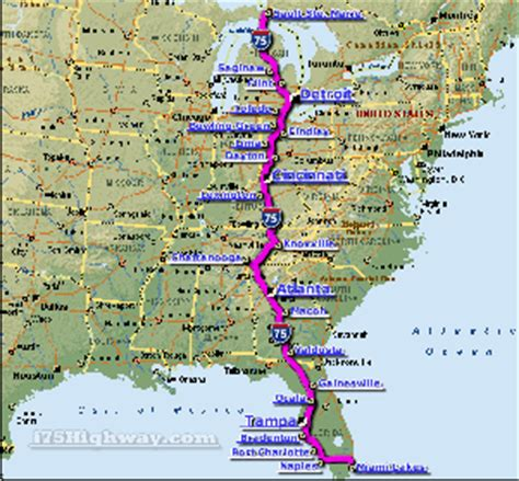 kentucky map i 75 car accidents in kentucky navbug