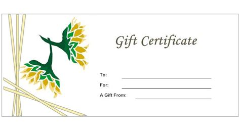 floral gift card template 17 best images about certificates on shopping