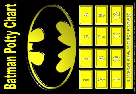 batman printable reward charts 7 best images of batman potty chart printable potty