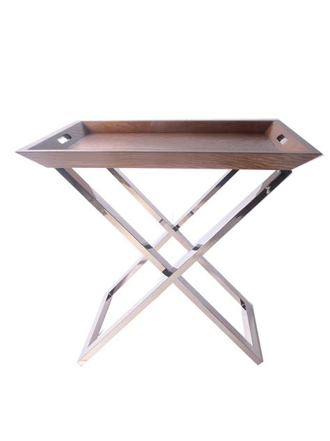 butler table with tray hotel luxury collection angled butlers tray table with