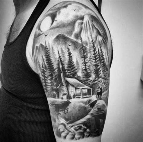 Half Outshoulder 116 best images about tattoos on wolves wolf tattoos and half sleeves