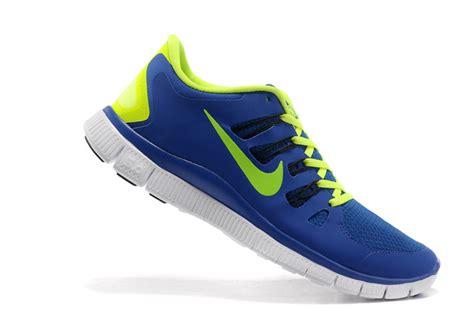 cheap nike free 5 0 womens blue fluorescence green