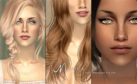download hairstyles for sims 2 the sims 2 finds nabila ici ni loca 2 hair retexures