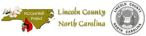 Lincoln County Records Lincoln County Carolina Tax Records