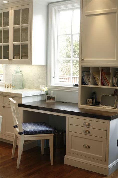 gorgeous kitchen built desk space san francisco ca stunning home decor design kitchen office kitchen desk areas kitchen desks