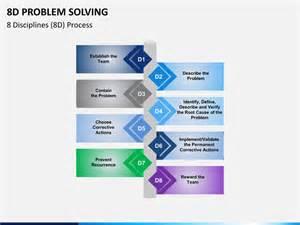 8d problem solving powerpoint template sketchbubble