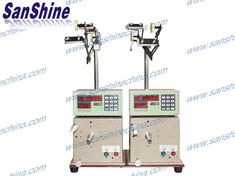inductor winding machine two spindles drum inductor winding machine ss100c