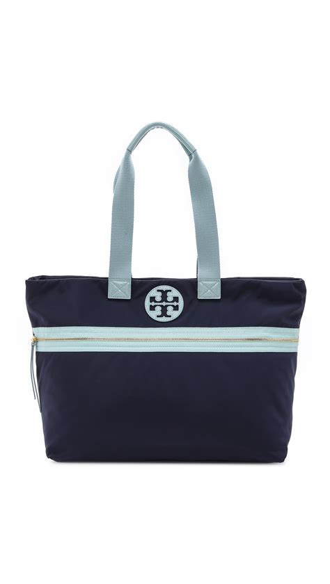 Burch Tote by Burch Soft Tote In Blue Navy Geyser Lyst