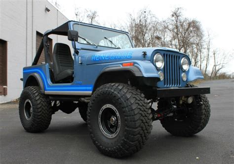 jeep renegade 1985 401 v8 power nicely built 1985 jeep cj 7 renegade bring