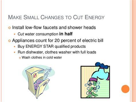 Water Saving Faucet Power Point Example Saving Energy
