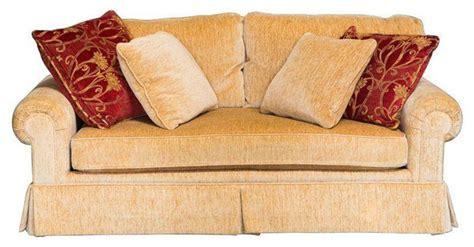gold chenille sofa designer gold chenille custom sofa 6 500 est retail