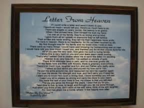 Bible Verses To Comfort Family After Death Items Similar To Letter From Heaven For Loss Of Loved One