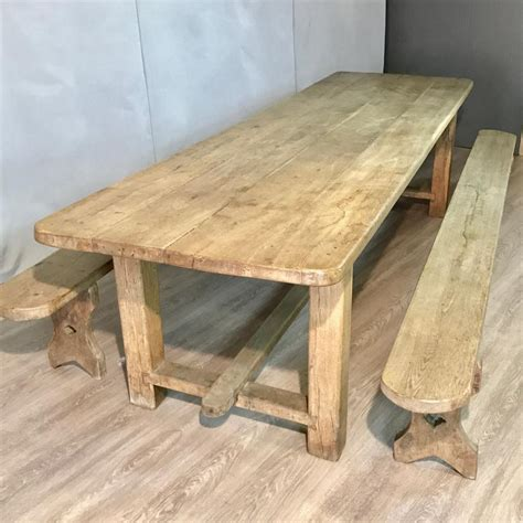 Antique Dining Tables Uk Large Antique Oak Dining Table With Benches Antique Oak