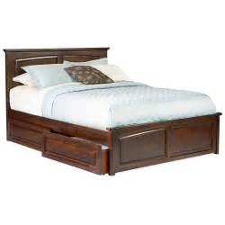 Platform Bed With Storage Drawers Platform Beds Humble Abode