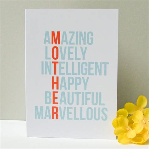 mother day card ideas running with a glue gun special sunday etsy picks