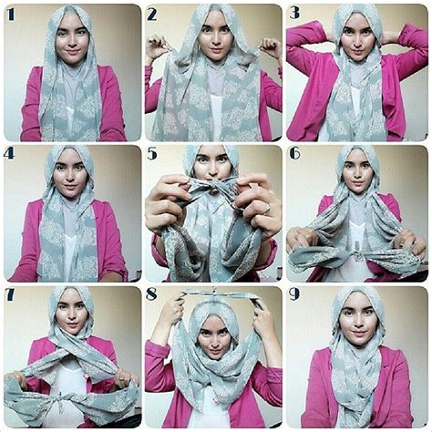 tutorial hijab vasmina simple 17 best images about hijab tutorial on pinterest simple