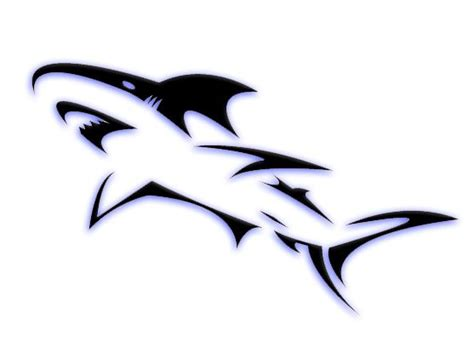 Kaos Oasis Putih best 25 tribal shark tattoos ideas only on