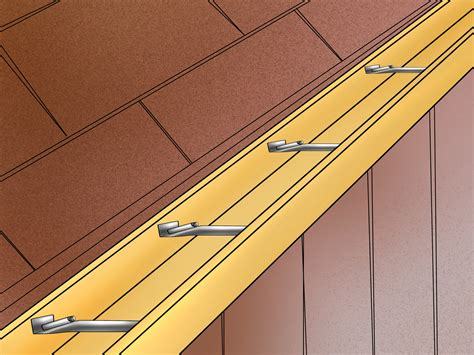 how to install gutters 12 steps ehow 3 ways to fix a sagging gutter wikihow