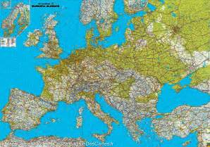 Road Map Of Europe by Road Amp Physical Map Of Europe Freytag Amp Berndt Mapscompany