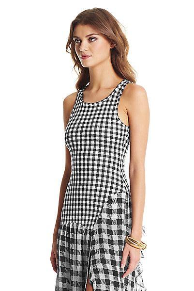 Maxi Dress Devina dvf davina jersey and chiffon combo maxi dress by dvf