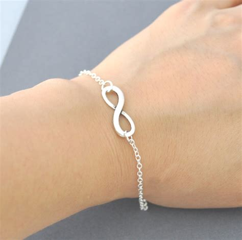infinity jewelers silver infinity bracelet everyday jewelry infinity
