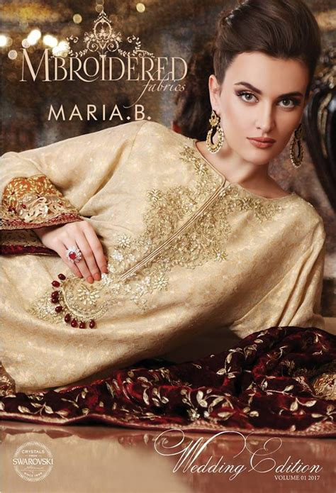maria b bridal collection wedding and formal dresses colorful embroidered frocks for girls fashion pakistan maria b latest formal wedding dresses collection 2017 2018