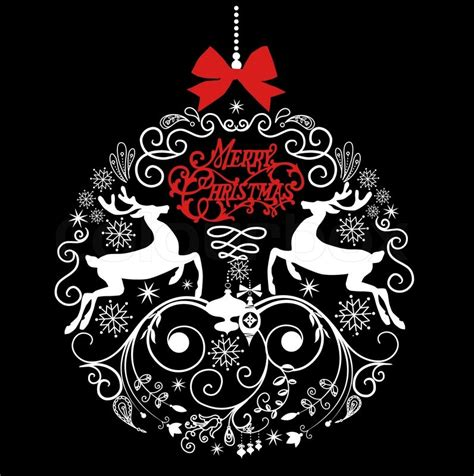 images of christmas black and white black and white christmas ball illustration stock vector