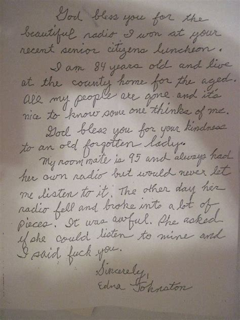 Touching Thank You Letter To 11 Incredibly Touching Thank You Letters