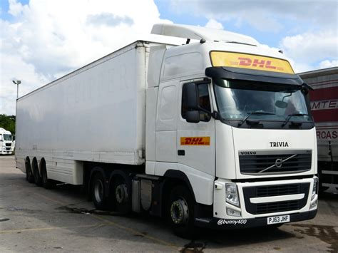 hgv volvo the world s best photos of dhl and hgv flickr hive mind