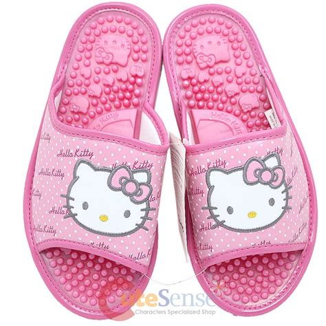 hello slippers adults sanrio hello massasge slippers pink xl with