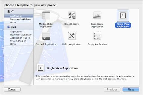 sle xcode projects ios create static table view using storyboard