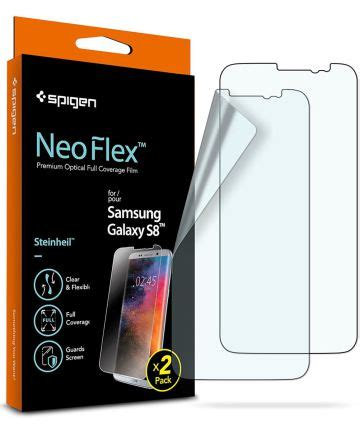 Samsung Galaxy S8 Screen Protector Neo Flex Spigen Casing Cover spigen neo flex screen protector samsung galaxy s8