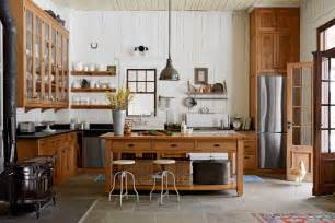 01 Simple Kitchen Decoration With Mahogany » Ideas Home Design