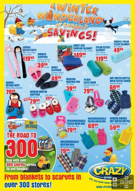 crazy store winter specials     jun