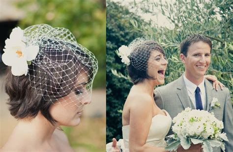 Wedding Updo With Veil Above by Looking Unique With Wedding Hairstyles With Birdcage
