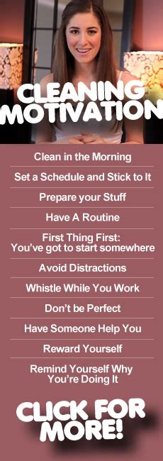 How To Get Your To With The Housework by How To Get Motivated To Clean Clean My Space