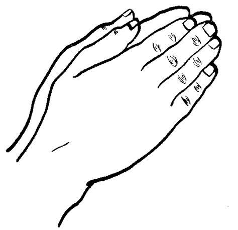 imagenes de mujeres orando para colorear manos orando para colorear imagui
