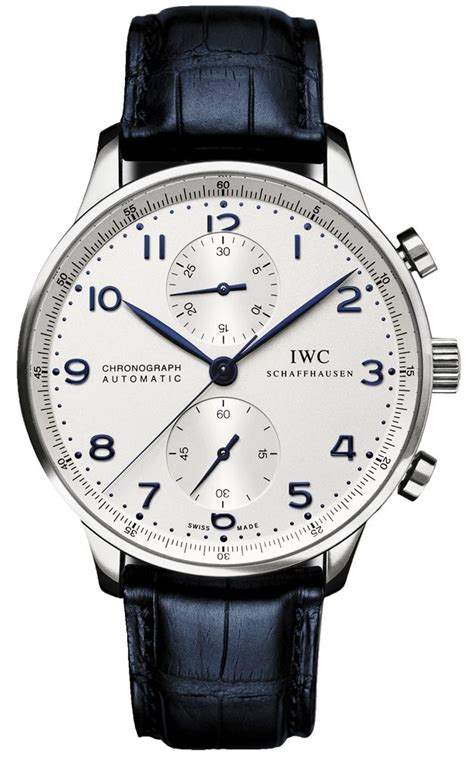 Iwc Scaffhause Blue T1310 3 iwc schaffhausen chronograph automatic time pieces