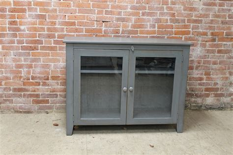 Glass Door Media Cabinet Ecustomfinishes Black Media Cabinet With Glass Doors